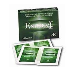 AR Fitofarma Ricerca Naturale Entero 4 Integratore Vitamine Fermenti 10 Bustine