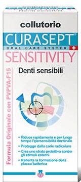 Curaden Curasept Sensitivity Intensive Denti Sensibili Collutorio 200 ml
