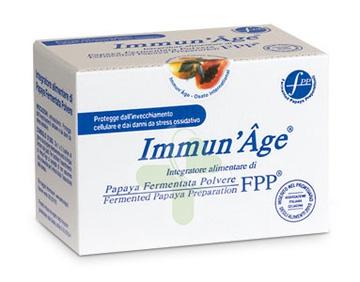 ImmunAge Linea Intergatori Rigeneranti Papaya Liofilizzata 60 Buste Orosolubili