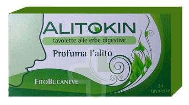 Fitobucaneve Linea Alito Sano Alitokin Digestivo Profumatore Alito 24 Tavolette