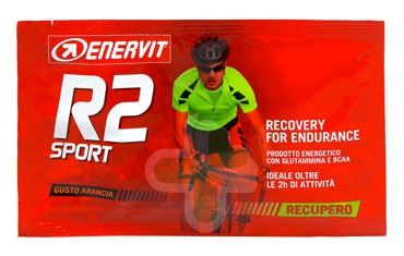 Enervit Sport Linea Energia R2 Sport Prodotto Energetico 1 Bustina Gusto Arancia