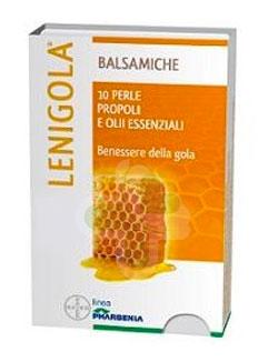 Lenigola Linea Propoli Benessere Gola 10 Perle Oli Essenziali Gusto Liquirizia