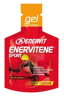Enervit Sport Linea Energia Enervitene 1 Gel Pack 25 ml Gusto Arancia