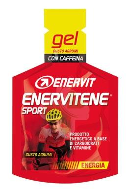 Enervit Sport Linea Energia Enervitene 1 Gel Pack 25 ml Gusto Agrumi