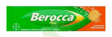 Berocca Plus Integratore Vitamine e Minerali 15 Compresse Effervescenti