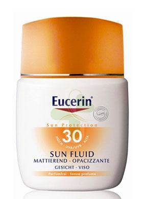 Eucerin Linea Solare Pelli Sensibili SPF30 Fluido Viso Pelli Normali Miste 50 ml