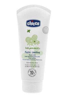 Chicco Linea Baby Moments Igiene del Bambino Pasta Lenitiva Protettiva 100 ml
