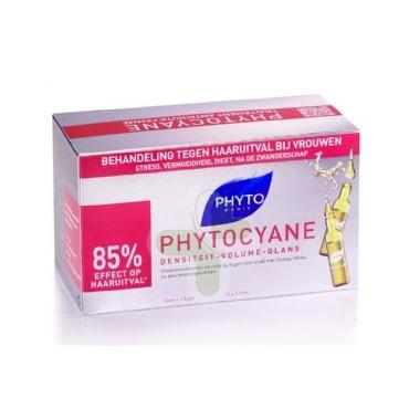 Phyto Linea Phytocyane Trattamento Rinforzante Anticaduta Capelli Donna 12 Fiale