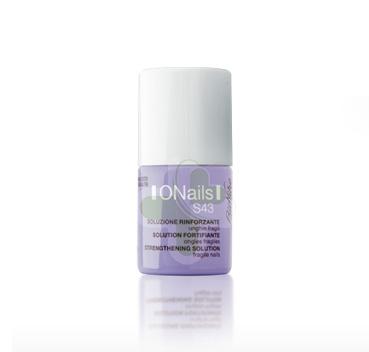 BioNike Linea Onails S43 Soluzione Rinforzante Unghie Fragili e Deboli 11 ml