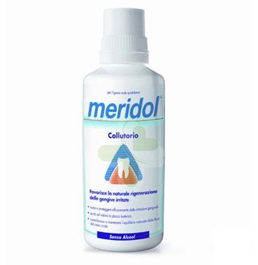 meridol Linea Igiene Dentale Quotidiana Collutorio Gengive Irritate 400 ml