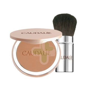 Caudalie Linea Make-up Teint Divine Cipria Polvere Compatta Colore Naturale 10g