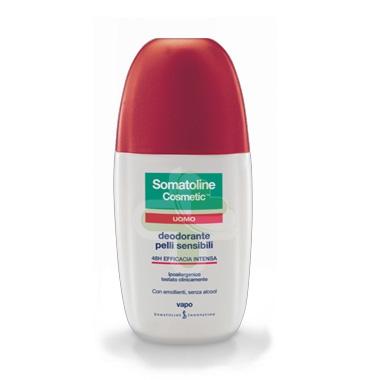 Somatoline Cosmetic Linea Uomo Deodorante Pelli Sensibili Vapo 75 ml Offerta Spe