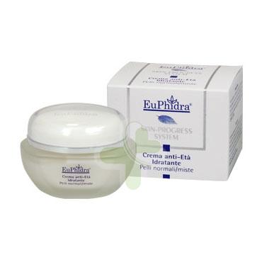 EuPhidra Linea Skin-Progress System Crema Anti-Età Idratante Pelli Miste 40 ml
