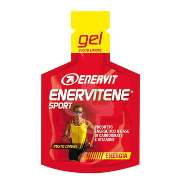 Enervit Sport Linea Energia Enervitene 1 Gel Pack 25 ml Gusto Limone