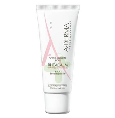 A-Derma Linea Rheacalm Crema Lenitiva Ricca Pelli Secche e Reattive 40 ml