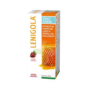 Lenigola Linea Propoli Benessere Gola Spray Junior Senza Alcool Protettivo 20 ml