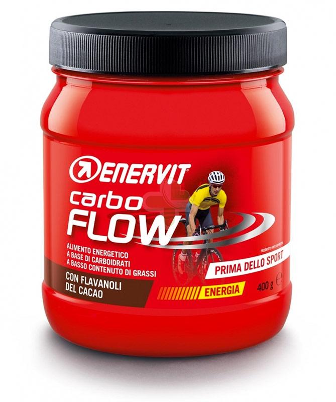 Enervit Sport Linea Energia Carbo Flow Integratore Alimentare Polvere da 400 g