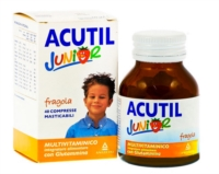 Acutil Multivitaminico Linea Senior 50  Integratore Alimentare 24 Compresse